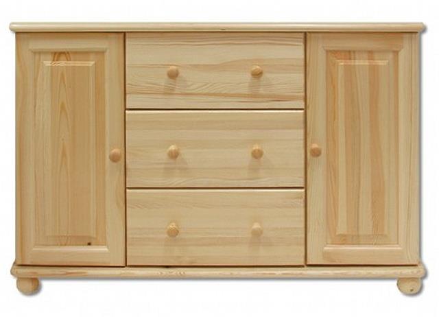 dřevěná komoda, prádelník z masivního dřeva borovice KD121 pacyg