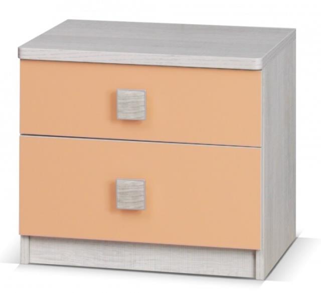 moderní noční stolek z dřevotřísky Tenus gib