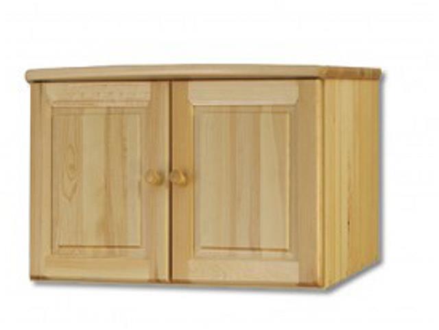 dřevěný nadstavec na šatní skříň z masivního dřeva borovice SF143 pacyg