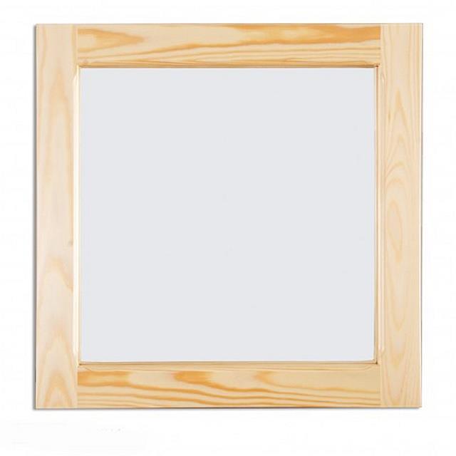 dřevěné zrcadlo z masivního dřeva borovice LA115 pacyg