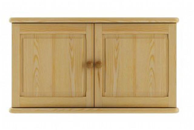 dřevěný nadstavec na šatní skříň z masivního dřeva borovice SF141 pacyg