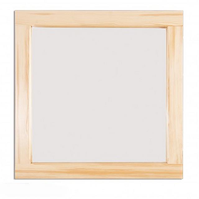 dřevěné zrcadlo z masivního dřeva borovice LA116 pacyg