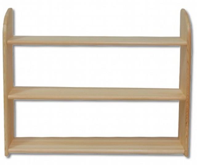 dřevěná závěsná polička z masivního dřeva borovice PK112 pacyg