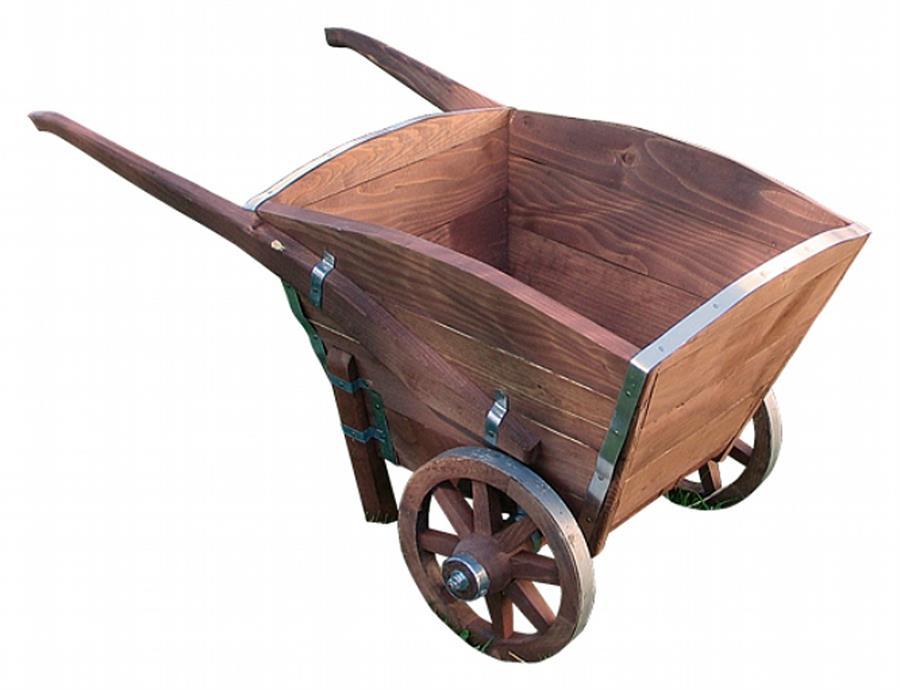 dřevěná dekorace, dřevěné zahradní dekorační kolečko dod 20 jandr