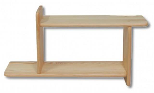 dřevěná závěsná polička z masivního dřeva borovice PK106 pacyg