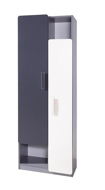 moderní regál z DTD kolekce Lido LR2D gib