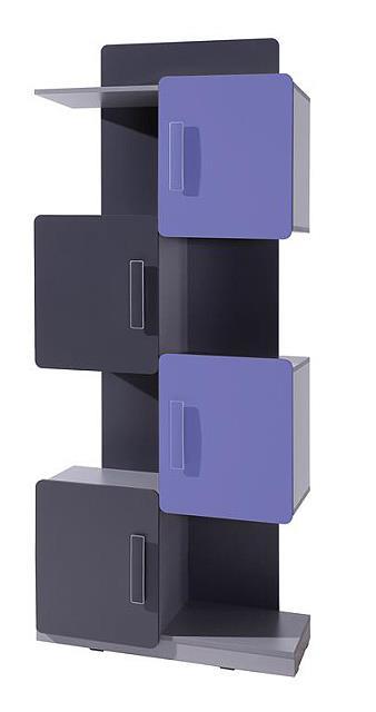 moderní regál z DTD kolekce Lido L R4D gib