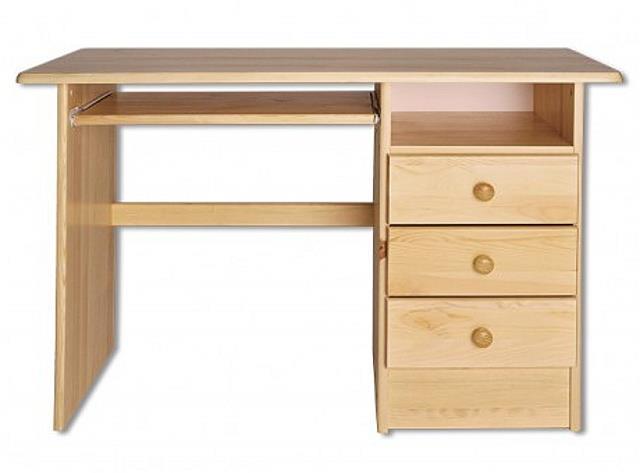 dřevěný psací stůl, PC stolek z masivního dřeva BR106 pacyg