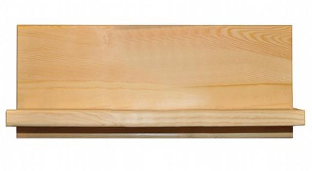 dřevěná závěsná polička z masivního dřeva borovice PK150 pacyg