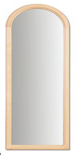dřevěné zrcadlo z masivního dřeva borovice LA108 pacyg