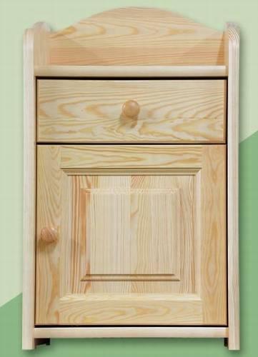 noční stolek z masivního dřeva borovice Venecia dreme131