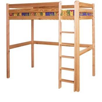 dřevěná patrová postel, palanda z masivniho dřeva borovice drewfilip 11
