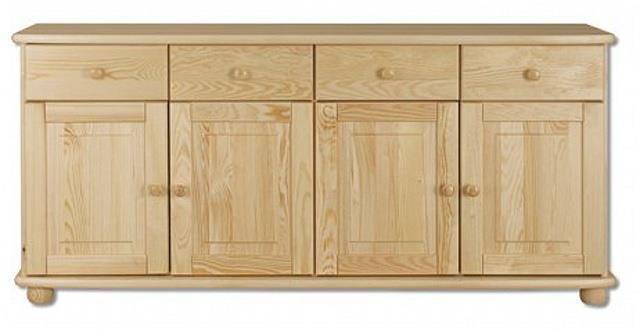 dřevěná kuchyňská skříňka dolní z masivního dřeva borovice KD141 pacyg