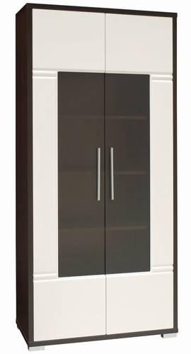 moderní vitrína 2D z dřevotřísky Roma vanm
