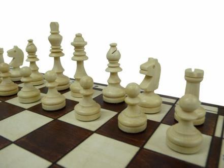 dřevěné šachy tradiční magnetické 140 mad