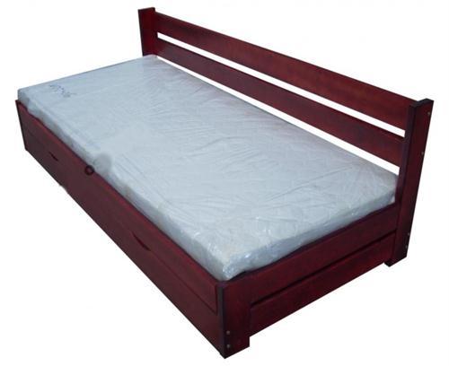 dřevěná jednolůžková postel s úložným prostorem Innowator chalup