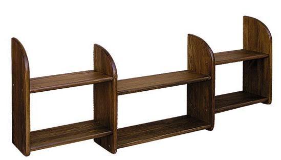 dřevěná závěsná polička z masivního dřeva borovice drewfilip 16