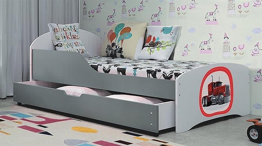 dětská postel Robi grafit bogdmar