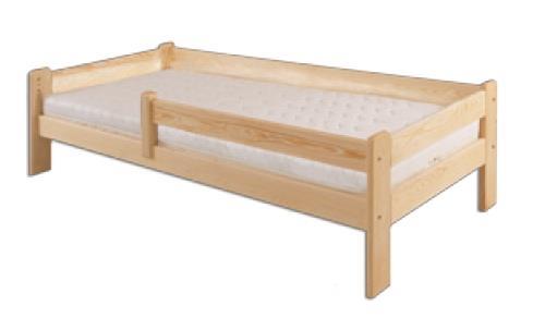 dětská dřevěná jednolůžková postel z masivního dřeva LK137