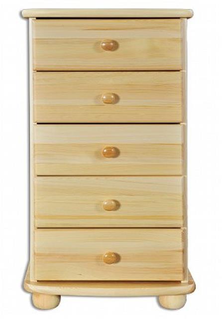 dřevěná komoda, prádelník z masivního dřeva borovice KD160 pacyg