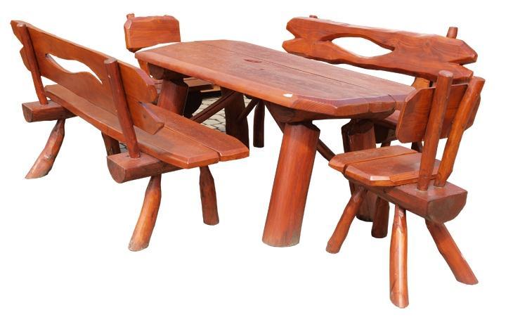 dřevěný zahradní nábytek set K018 jandr