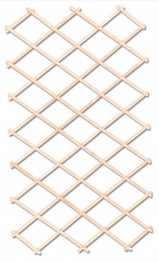dřevěná zahradní dekorace ozdobná mřížka MO224 pacyg