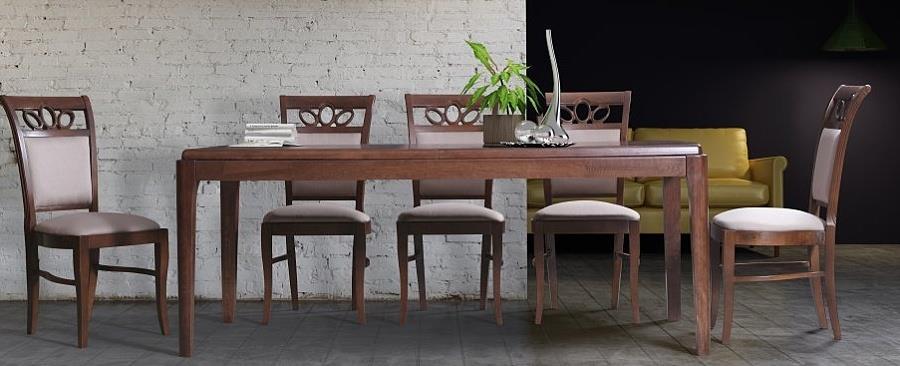 dřevěný jídelní moderní stůl S34 chojm