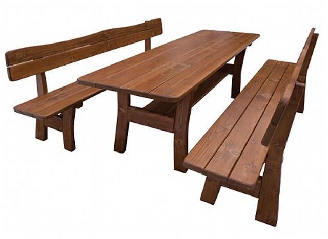 dřevěný zahradní nábytek MO261 pacyg