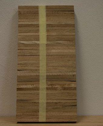 Dubová mozaiková parketa -  kantovka 120mm
