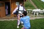 Tandemové seskoky- příprava