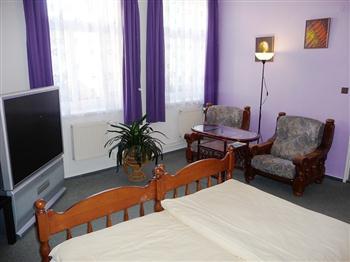 Hotel Praděd Rýmařov - pokoje