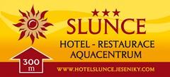 reklamní cedule - Hotel Slunce - Jeseníky