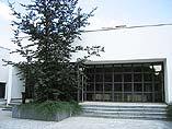 Krematorium Ústí nad Labem - exteriér obřadní síně Memory in Memory s.r.o.