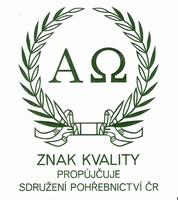 Znak kvality propůjčuje sdružení pohřebnictví ČR