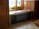 Umělecké kovářství - kovaný kryt na radiátor