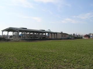 Nově položená střecha - březen 2007