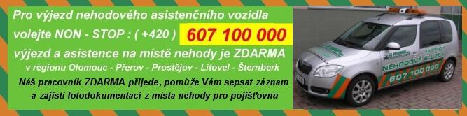 Nehodové asistenční služby poskytované společností LK AUTOMONT s.r.o.