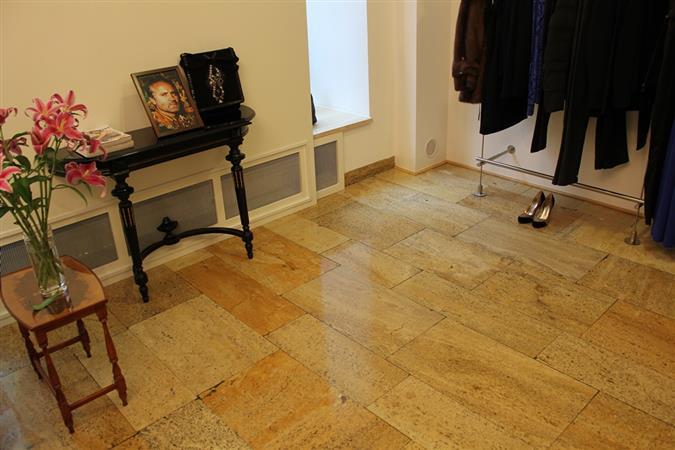 Renovace podlahy z přírodního kamene