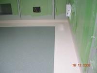 pokládka kaučukové podlahy