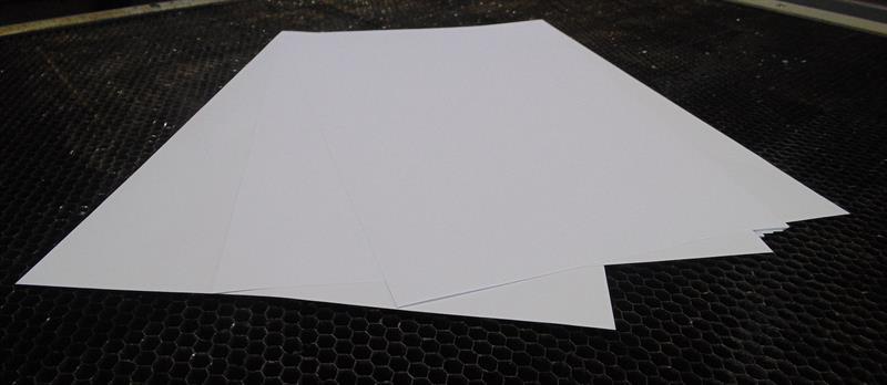 křídový papír matný 300g