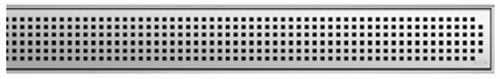 ACO ShowerDrain E odtokový rošt 800 mm, design Quadrato 0153.73.60