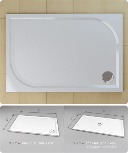 Sprchová vanička Ronal WMA  80x160