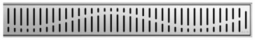 ACO ShowerDrain E odtokový rošt 700 mm, design Wave 0153.73.42