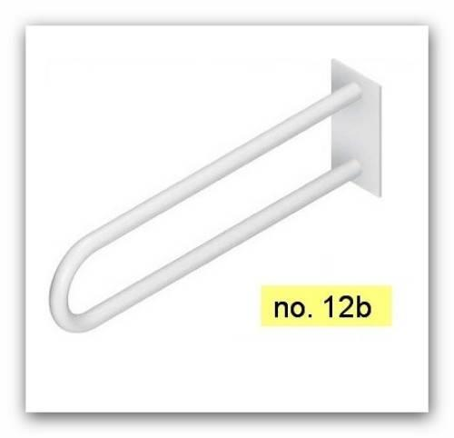 12B Fénix Madlo pevné 550 mm bílé