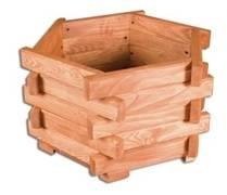 dřevěný truhlík, květináč MO193 pacyg