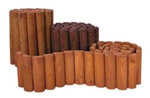 dřevěná zahradní palisáda drewfilip 62