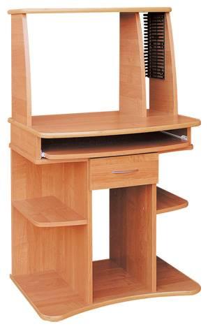 Laminátový psací a počítačový PC stůl Pawel vanm