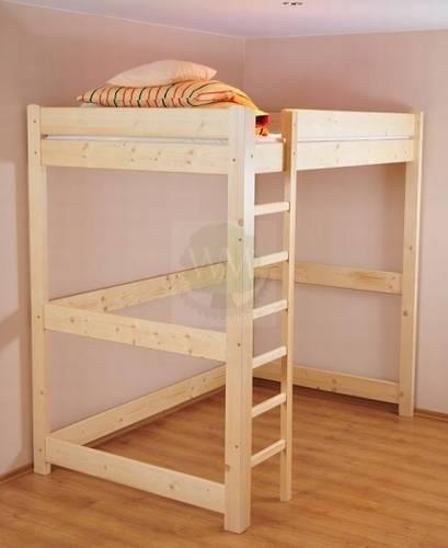 dřevěná patrová postel Ania maršal