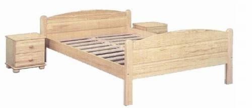 jednolůžková postel dřevěná Lozanna chalup