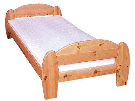 dřevěná jednolůžková postel z masivního dřeva drewfilip 5
